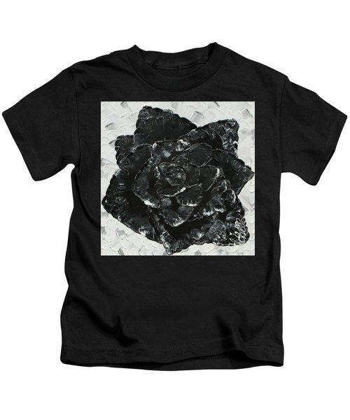 Black Rose I Kids T-Shirt