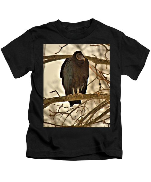 Black Vulture 1 Kids T-Shirt
