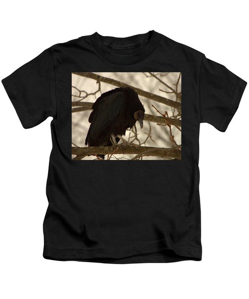 Black Vulture 4 Kids T-Shirt