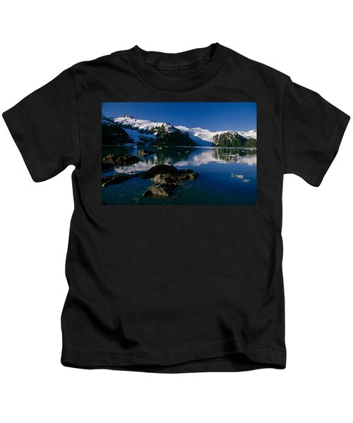Blackstone Bay Blackstone Glacier Pws Kids T-Shirt