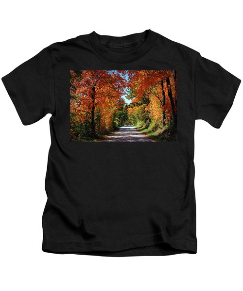 Blaze Of Glory Kids T-Shirt