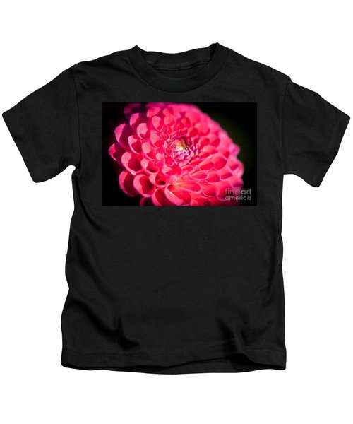 Blooming Red Flower Kids T-Shirt