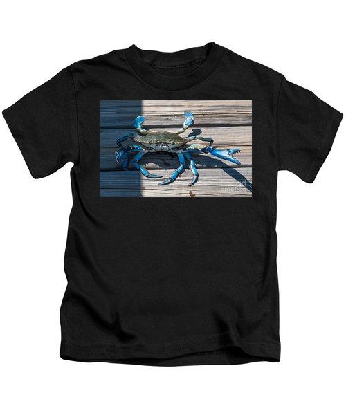 Blue Crab Pincher Kids T-Shirt
