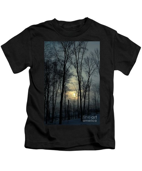 Blue Daybreak Kids T-Shirt