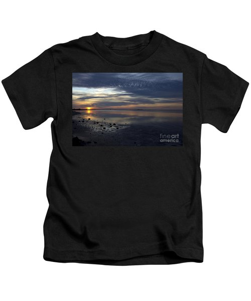 Blue Morning  Kids T-Shirt