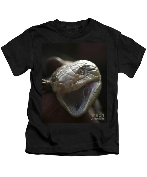 Blue Tongue Lizard Kids T-Shirt