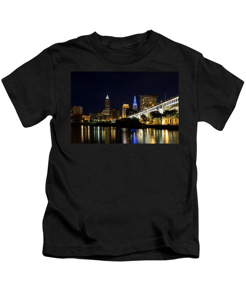 Blues In Cleveland Ohio Kids T-Shirt