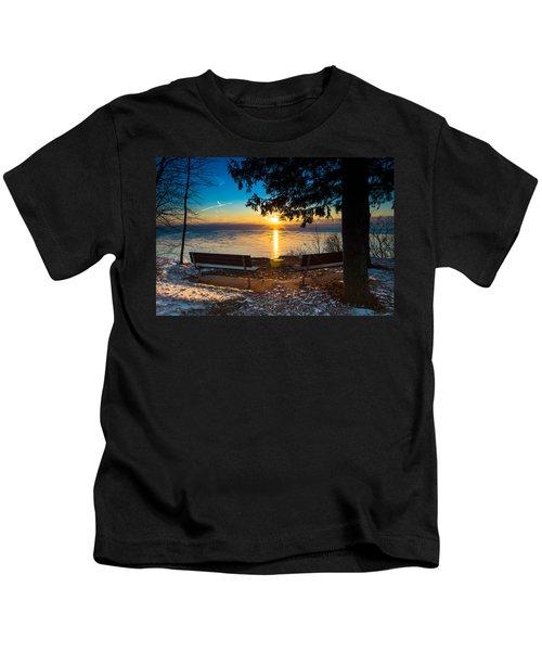 Bluff  Benches Kids T-Shirt