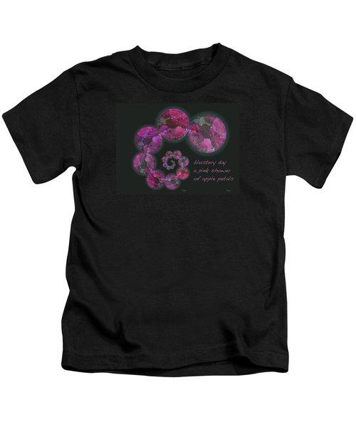 Blustery Day Haiga Kids T-Shirt