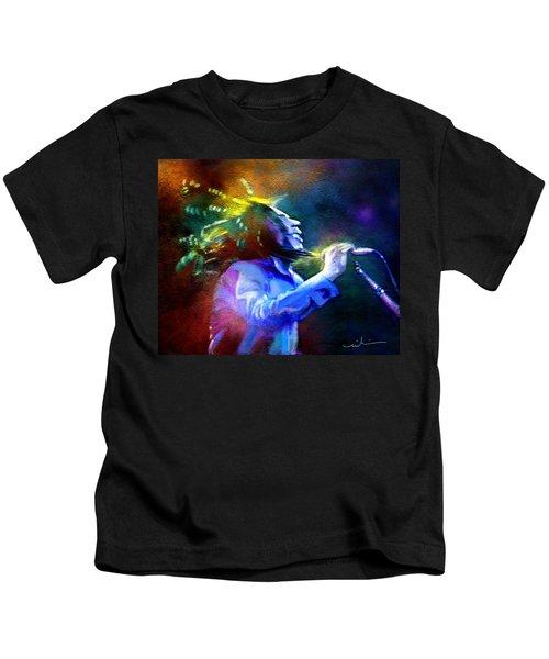 Bob Marley 01 Kids T-Shirt