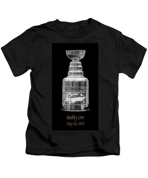 Bobby Orr 3 Kids T-Shirt