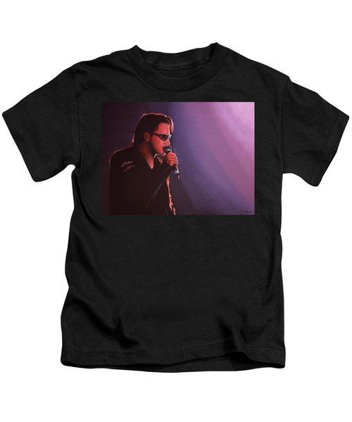 Bono U2 Kids T-Shirt by Paul Meijering