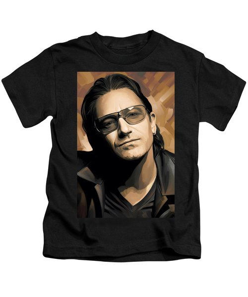 Bono U2 Artwork 2 Kids T-Shirt
