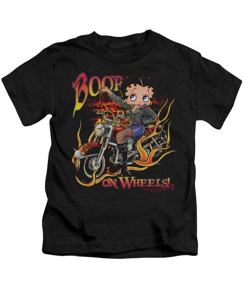 Boop - On Wheels Kids T-Shirt
