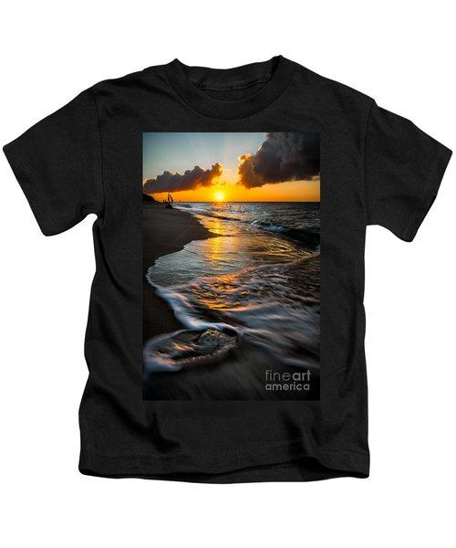 Boracay Sunset Kids T-Shirt