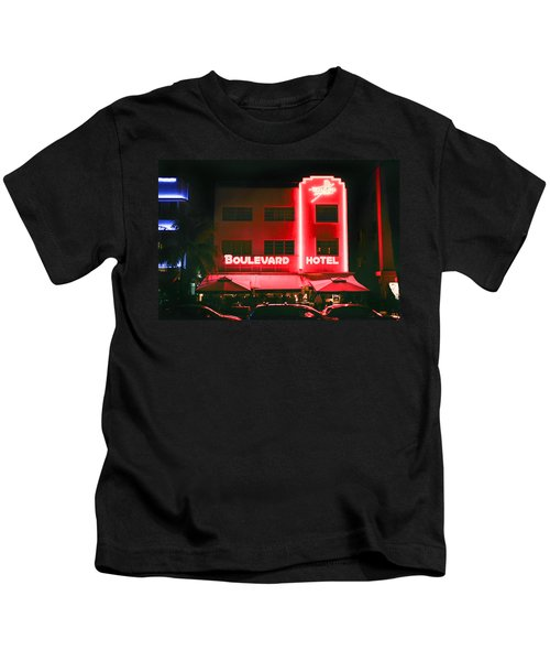 Boulevard Hotel Kids T-Shirt