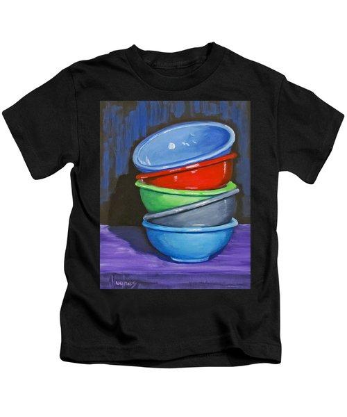 Bowls Kids T-Shirt