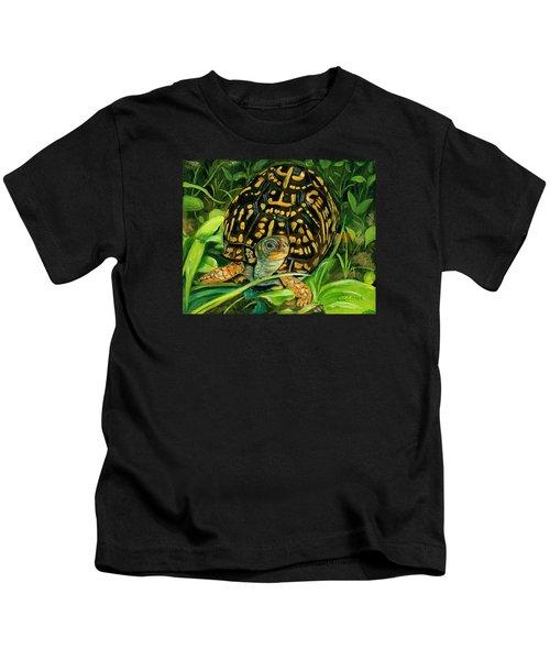 Box Turtle Kids T-Shirt