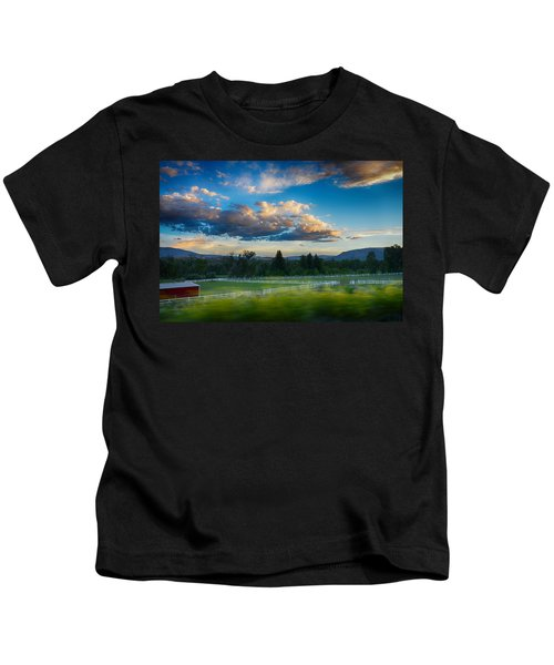 Breathtaking Colorado Sunset 1 Kids T-Shirt