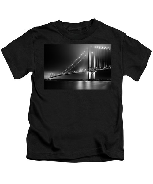 Bridging Verrazano Narrows Kids T-Shirt