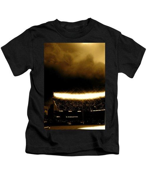 Bronx Storm Yankee Stadium  Kids T-Shirt