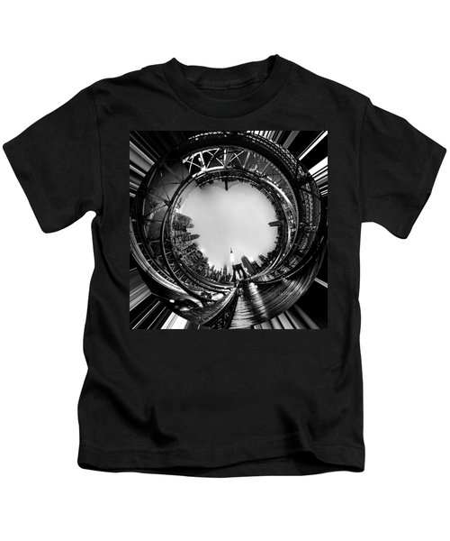 Brooklyn Bridge Circagraph 4 Kids T-Shirt