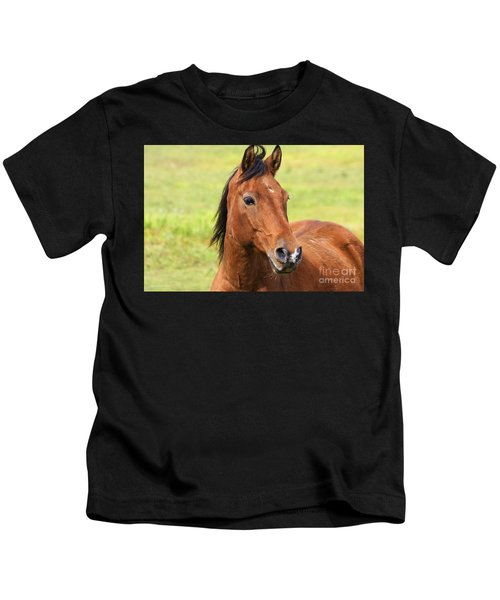 Brown Beauty Kids T-Shirt