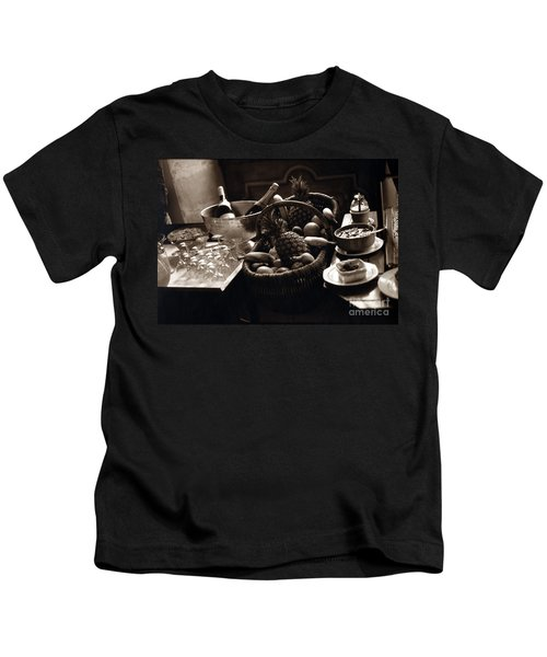 Brunch In The Loire Valley Kids T-Shirt