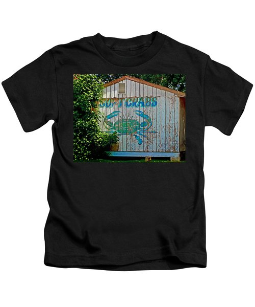 Buckroe Crab Shack Kids T-Shirt