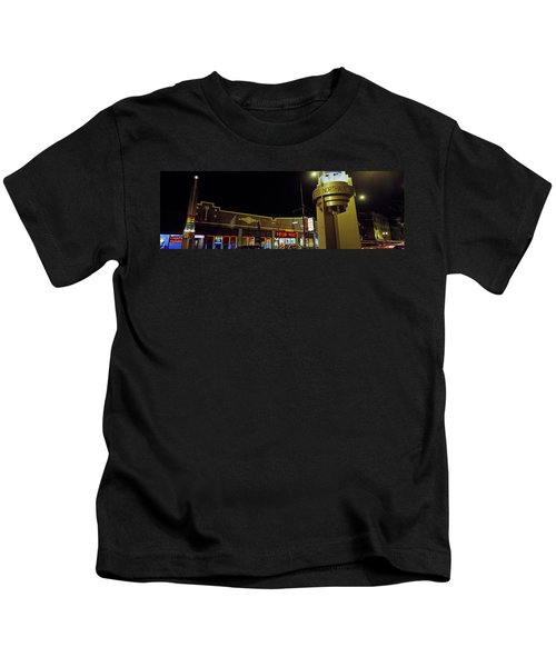 Buildings In A City, Halsted Street Kids T-Shirt