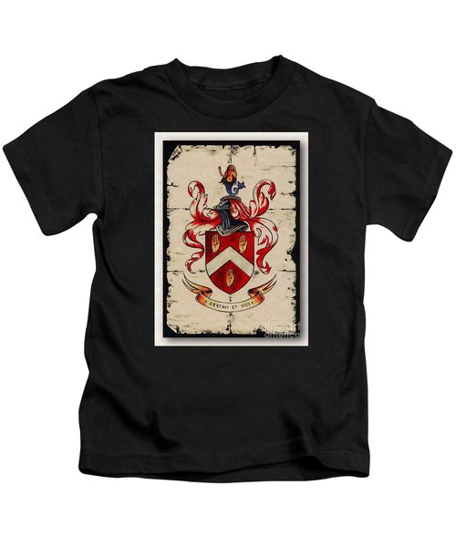 Byrne Coat Of Arms Kids T-Shirt