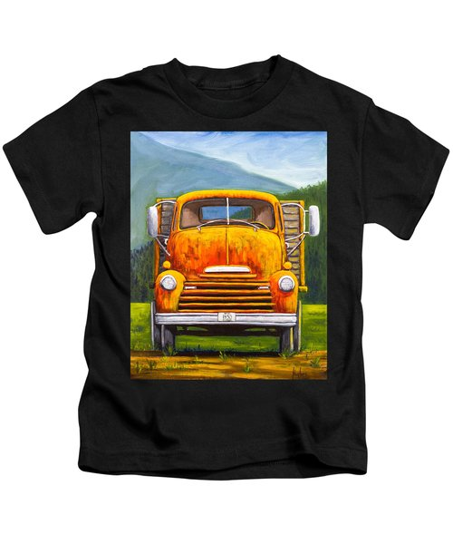 Cabover Truck Kids T-Shirt