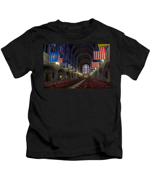 Cadet Chapel At West Point Kids T-Shirt