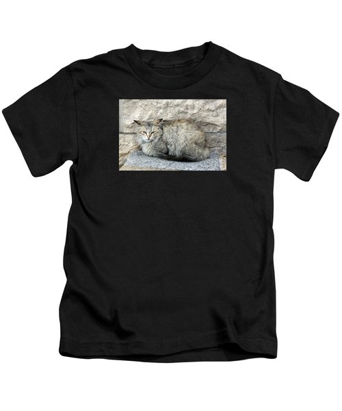 Camo Cat Kids T-Shirt