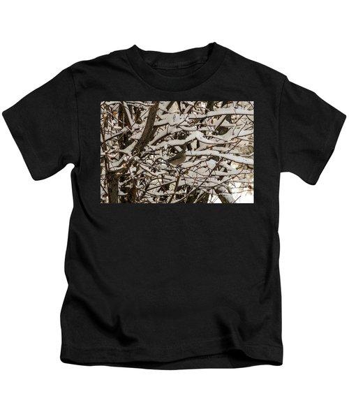 Camouflaged Thrush Kids T-Shirt