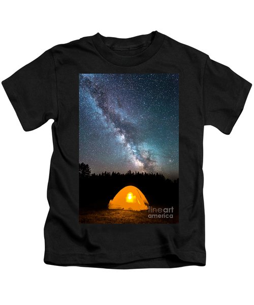 Camping Under The Stars Kids T-Shirt