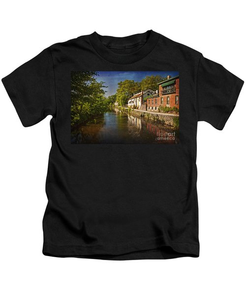 Canal Along The Porkyard Kids T-Shirt