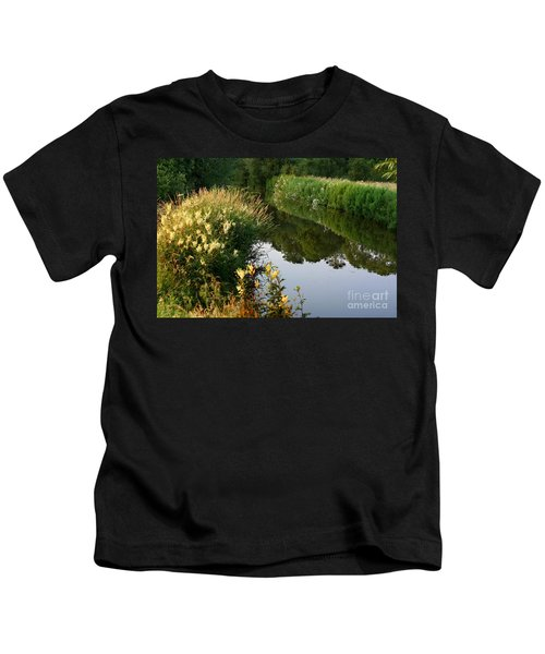 Canal Reflections Kids T-Shirt