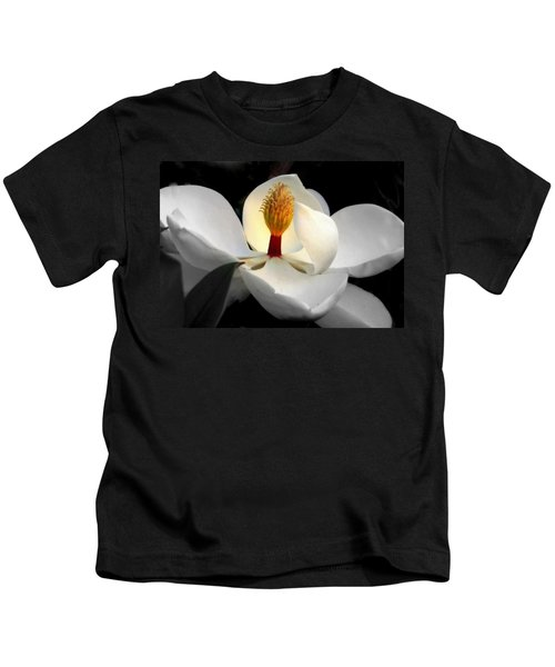 Candle In The Wind Kids T-Shirt by Karen Wiles