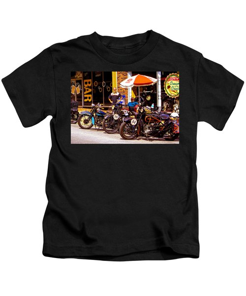 Cannonball Motorcycle Colors Kids T-Shirt