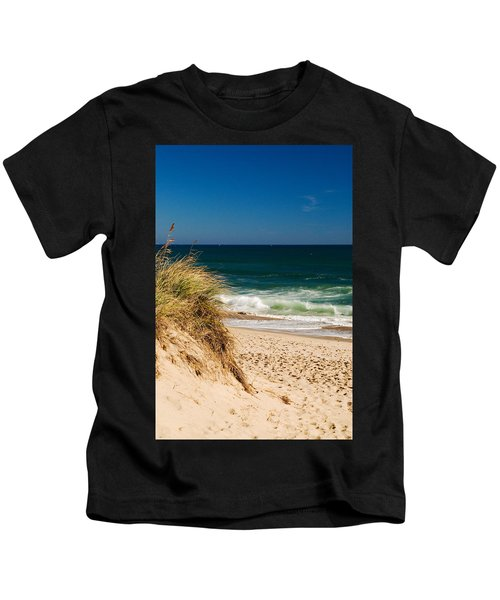 Cape Cod Massachusetts Beach Kids T-Shirt