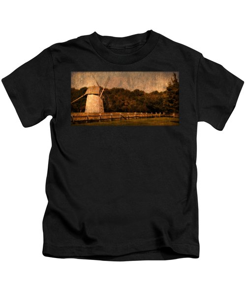 Cape Cod Windmill Kids T-Shirt