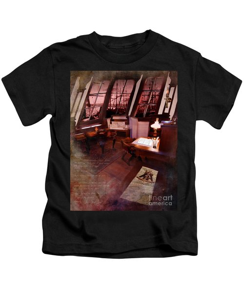 Captain's Cabin On The Dicey Kids T-Shirt