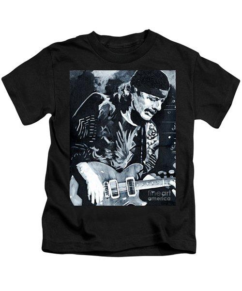Carlos Santana - Black Magic Woman Kids T-Shirt