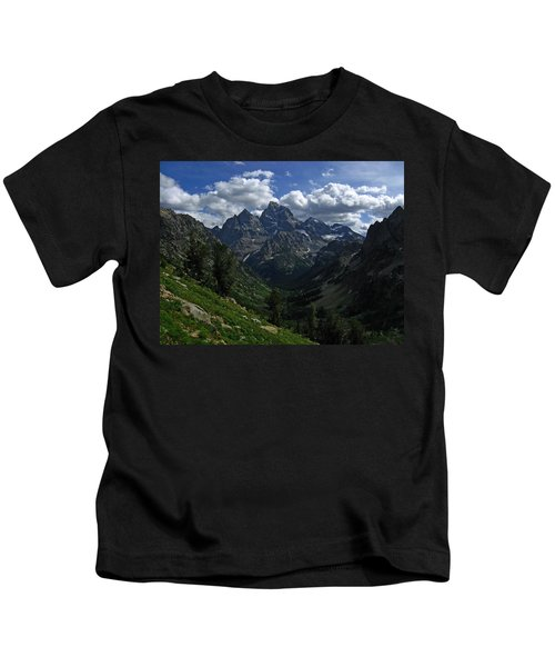 Cascade Canyon North Fork Kids T-Shirt