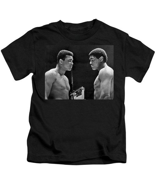 Cassius Clay Gives Whammy Eye Kids T-Shirt