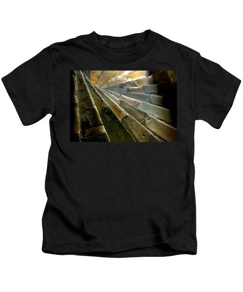 Castle Steps Kids T-Shirt