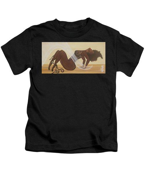 Catching The Breeze Kids T-Shirt