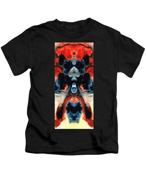 Catman Saves The World - Art By Sharon Cummings Kids T-Shirt