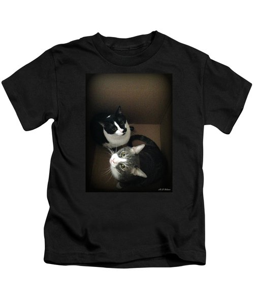 Cats In The Box Kids T-Shirt